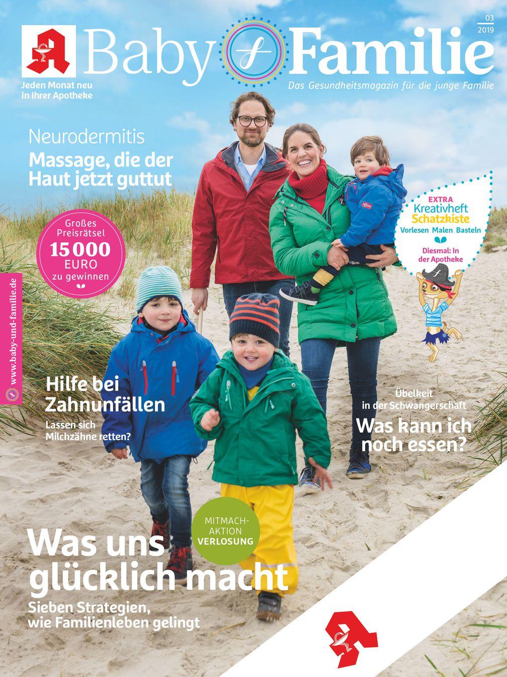 Baby & Familie Apotheken Zeitschrift Cover